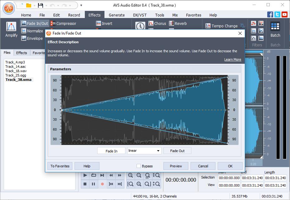 Программы на русском языке для редактирования аудио