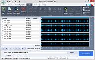 AVS Audio Converter. Kliknij aby zobaczyć obraz w pełnym rozmiarze.