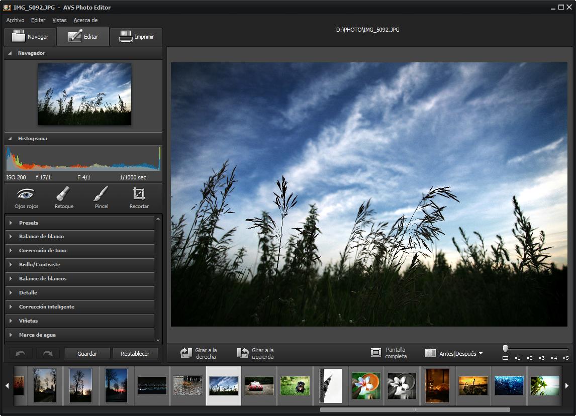 Avs photo editor edita tus fotos aplica efectos y for Editor de fotos efectos