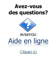AVS4YOU Aide en Ligne. Trouvez les réponses à toutes vos questions. Cliquez ici pour les lire.