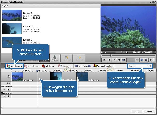 Wie konvertiert man AVI in DVD? Schritt 5