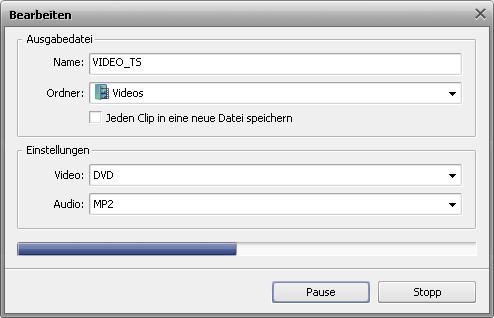 Wie erstellt man ein Diskmenü mit dem AVS Video ReMaker? Schritt 6