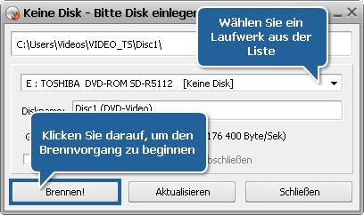 Wie erstellt man ein Diskmenü mit dem AVS Video ReMaker? Schritt 7