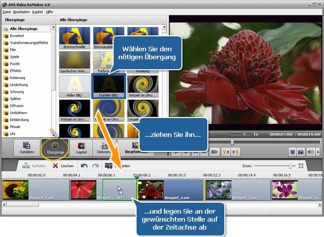 Wie vereinigt man mehrere Videodateien zu einer Datei? Schritt 4