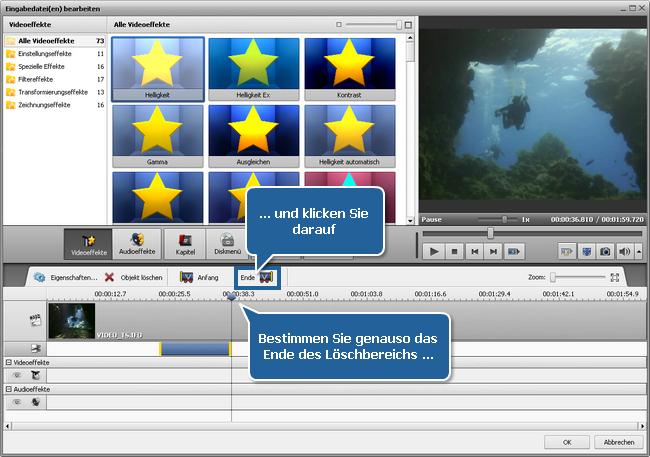 Wie exportiert man den Ton aus einer Videodatei? Schritt 4