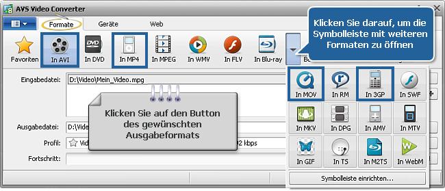 Wie führt man die Multipass-Umwandlung mit dem AVS Video Converter durch? Schritt 3