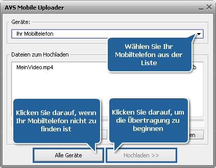 Wie wandelt man Heimvideos ins 3GP- oder MP4-Format für Mobiltelefone um? Schritt 6