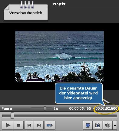 Wie stellt man verschwommenes Video mit dem AVS Video Editor wiederher? Schritt 2