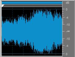 Audiosignal mit einem breiten Dynamikumfang