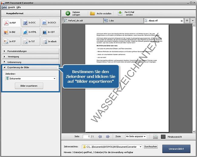 Wie kann man DOC/DOCX-Dateien ins PDF-Format umwandeln? Schritt 6