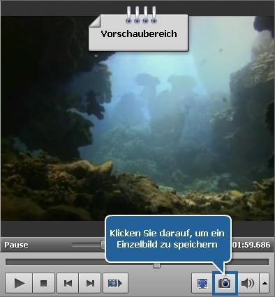 Wie exportiert man Bilder aus einer Videodatei? Schritt 4