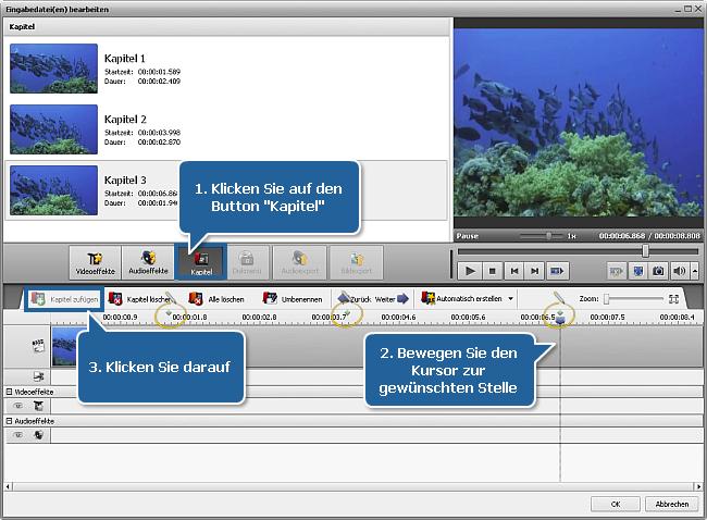 Wie exportiert man Bilder aus einer Videodatei? Schritt 6