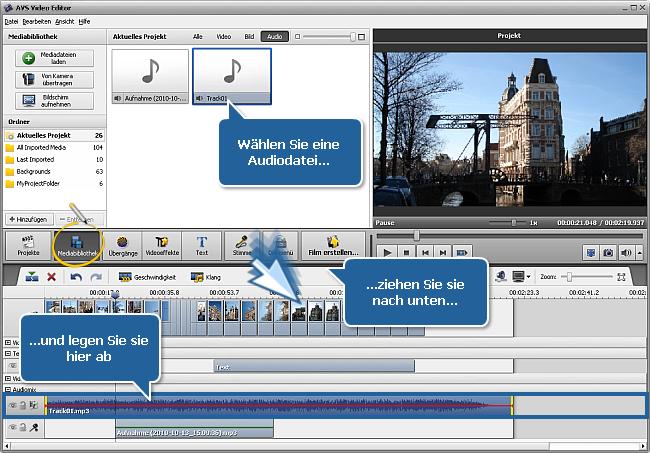 Wie erstellt man eine Diashow mit dem AVS Video Editor? Schritt 4
