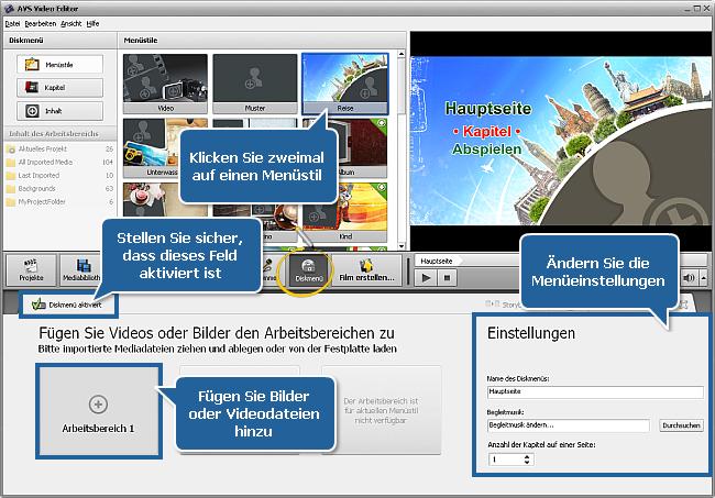 Wie erstellt man eine Diashow mit dem AVS Video Editor? Schritt 5