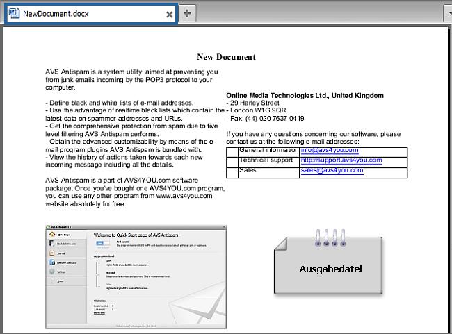 Wie konvertiert man eine PDF-Datei ins DOCX-Format? Schritt 6