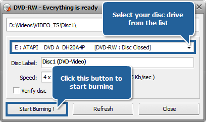 How to edit home DVD video with AVS Video ReMaker? Step 7