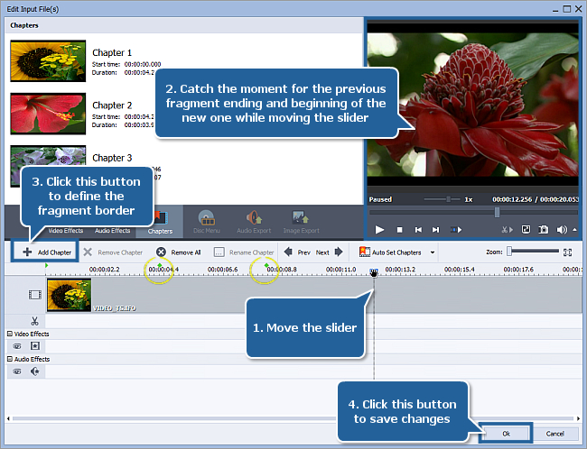 How to convert home DVD episodes into separate files? Step 5