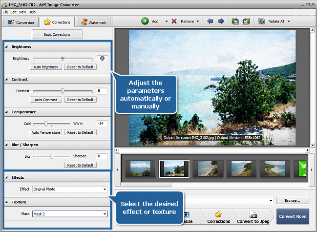 How to edit RAW files? Step 4