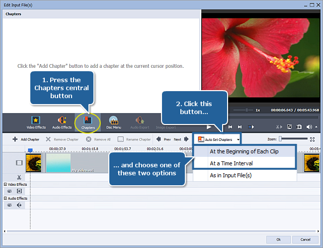 How to convert AVI to DVD? Step 5