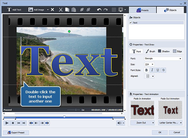How to create a slideshow using AVS Video Editor? Step 3