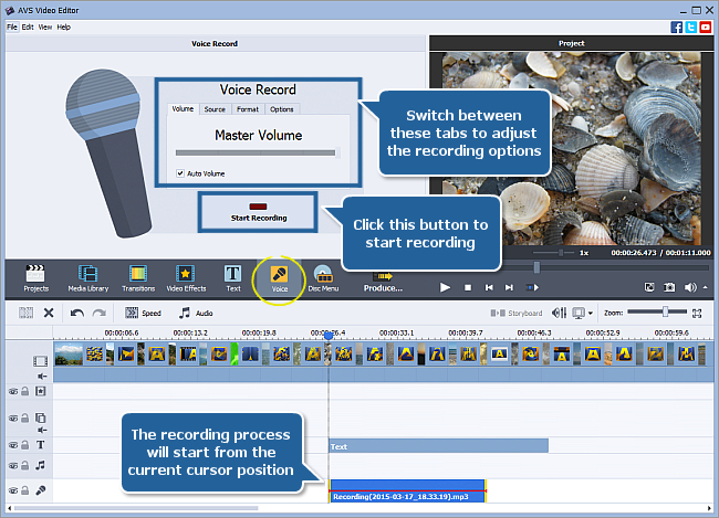 How to create a slideshow using AVS Video Editor? Step 4