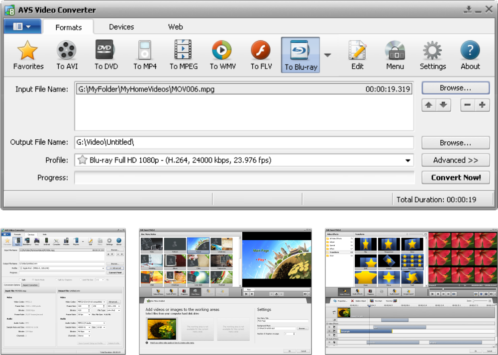 Avs video converter is a lossless tool to convert mp4 dvd avi wmv convert ccuart Image collections