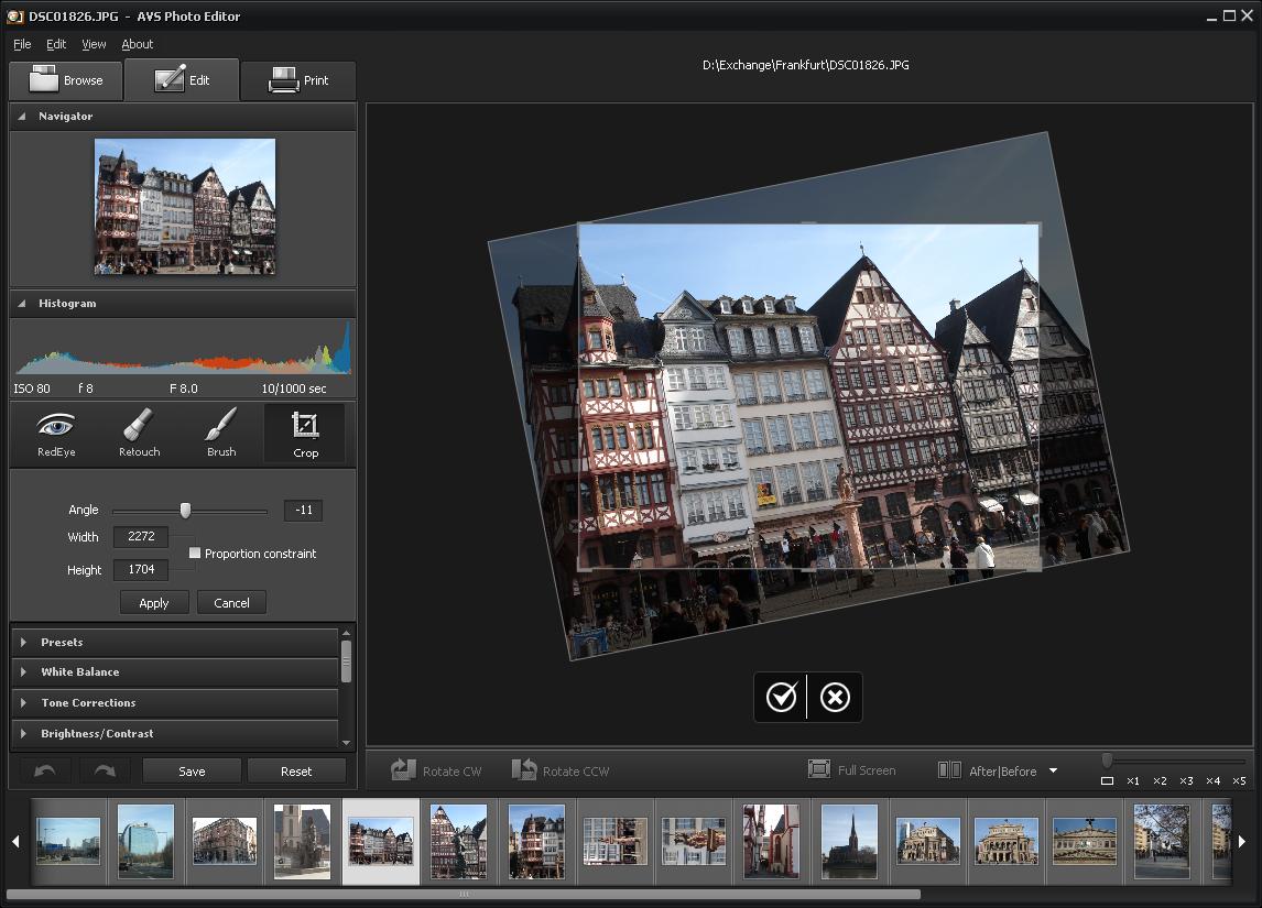 Avs photo editor free photo editing software to improve Free photo editing programs