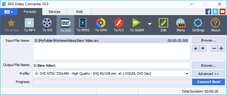 Avs video converter is a lossless tool to convert mp4 dvd avi wmv avs video converter click to see the full size image stopboris Image collections