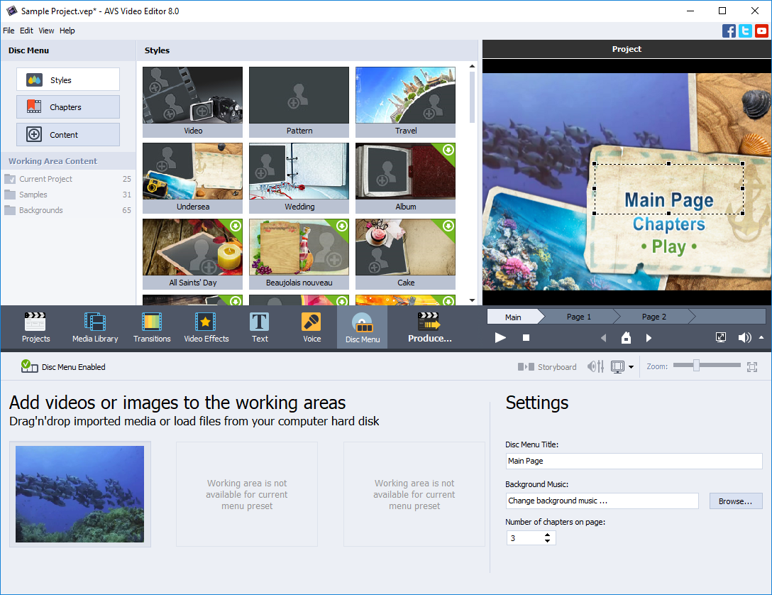AVS Video Editor - easy video editing software for Windows