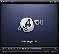 AVS Free Media Player. Click to see the full-size image.