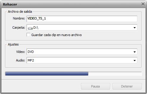 ¿Cómo editar un DVD de vídeo casero con AVS Video ReMaker? Paso 6