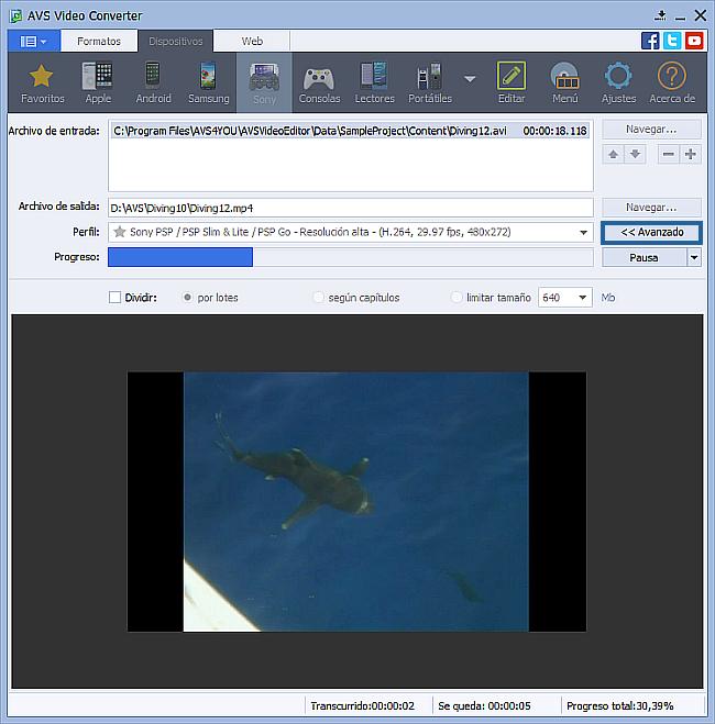 ¿Cómo convertir vídeo a otros dispositivos portátiles? Paso 5