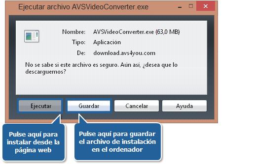¿Cómo descargar e instalar el software AVS4YOU en un PC? Paso 1