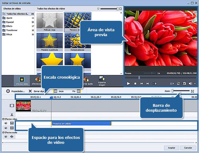 ¿Cómo aplicar un efecto a un archivo de vídeo y convertirlo a otro formato? Paso 3