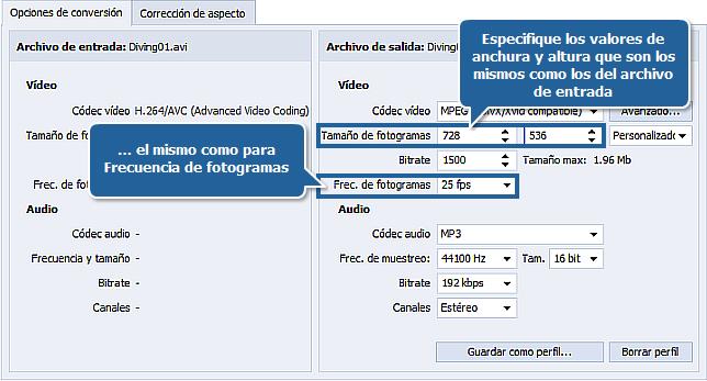 ¿Cómo reducir el tamaño del archivo de entrada con AVS Video Converter? Paso 4