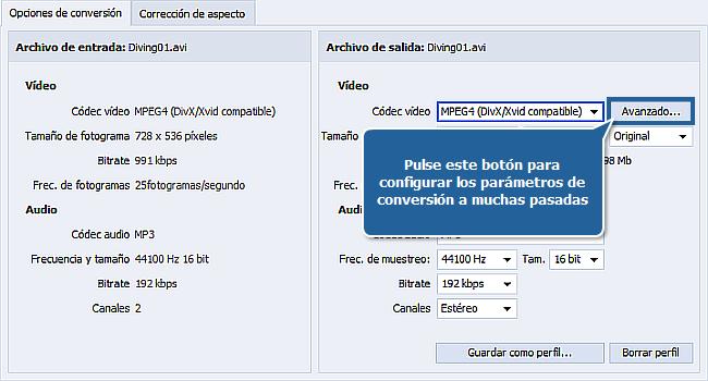 ¿Cómo realizar conversión a muchas pasadas con AVS Video Converter?