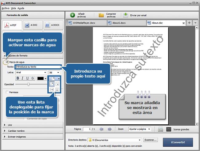 ¿Cómo convertir archivos DOC/DOCX al formato PDF? Paso 3