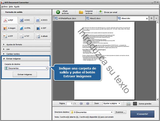 ¿Cómo convertir archivos DOC/DOCX al formato PDF? Paso 5