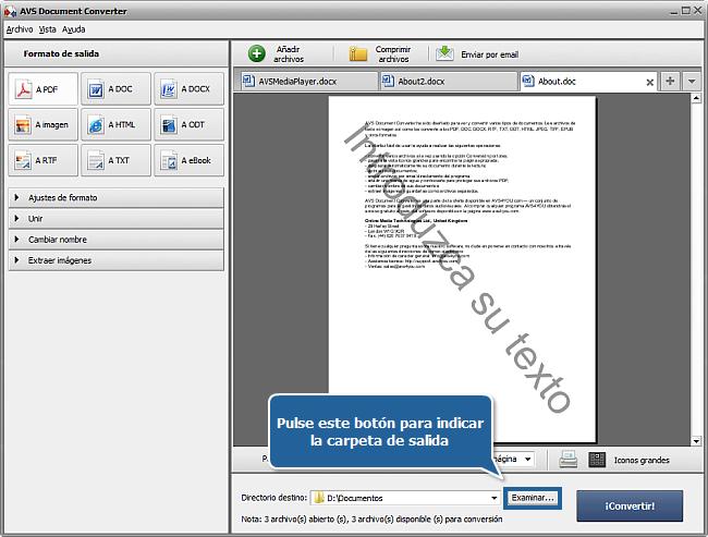 ¿Cómo convertir archivos DOC/DOCX al formato PDF? Paso  6
