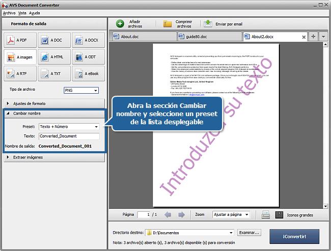 ¿Cómo añadir marca de agua a documentos? Paso 5