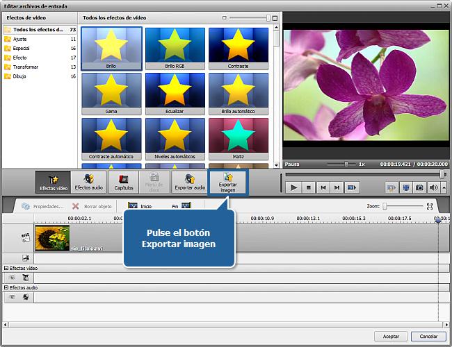¿Cómo exportar imágenes de vídeos? Paso 5