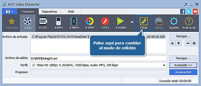 ¿Cómo convertir vídeo HD? Paso5