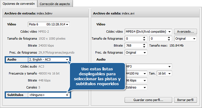 How to convert Blu-ray video? Step 3