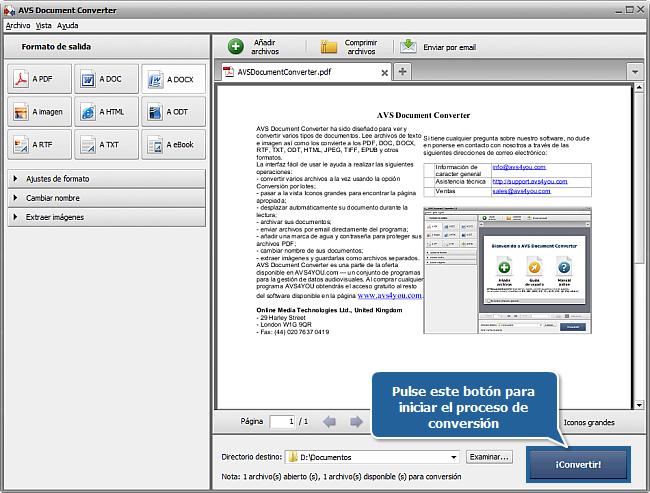 ¿Cómo convertir de formato PDF a DOCX? Paso 6