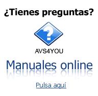 AVS4YOU. Manuales online. Encuentra respuestas a tus preguntas. Haz clic aquí para acceder al manual.
