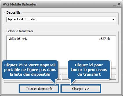Comment convertir une vidéo en MP4 pour Apple iPod? Etape 6