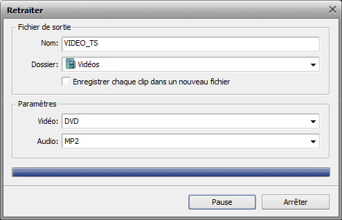 Comment traiter un DVD personnel en utilisant AVS Video ReMaker? Etape 6