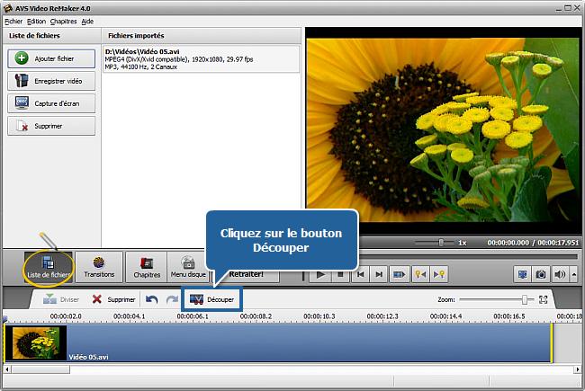 Comment couper des parties inutiles de votre vidéo sans la réencoder? Etape 3