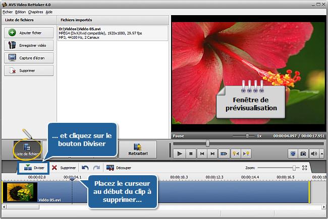 Comment couper des parties inutiles de votre vidéo sans la réencoder? Etape 4