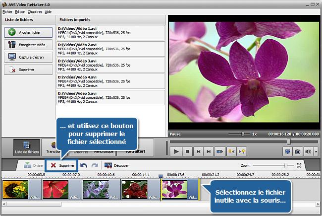 Comment fusionner plusieurs fichiers vidéo en un seul? Etape 3